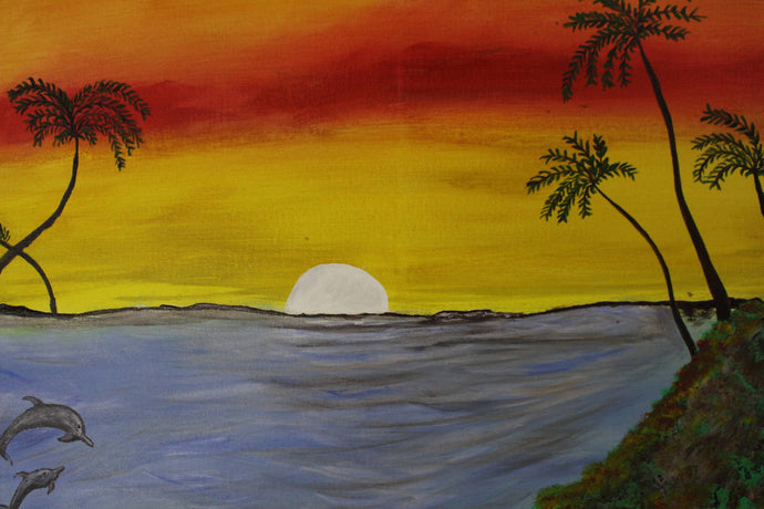 artlyne - Evening sunset - Artwire - Acrylic art