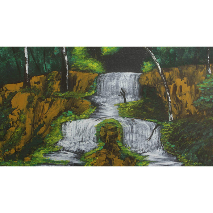 artlyne - Split waterfall - Artwire - Acrylic art