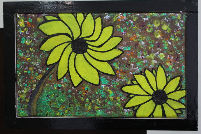 artlyne - Sunflower - Artwire - Acrylic art