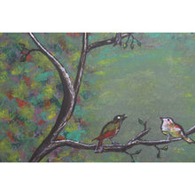 Load image into Gallery viewer, artlyne - Birds on a tree - Artwire - Acrylic art