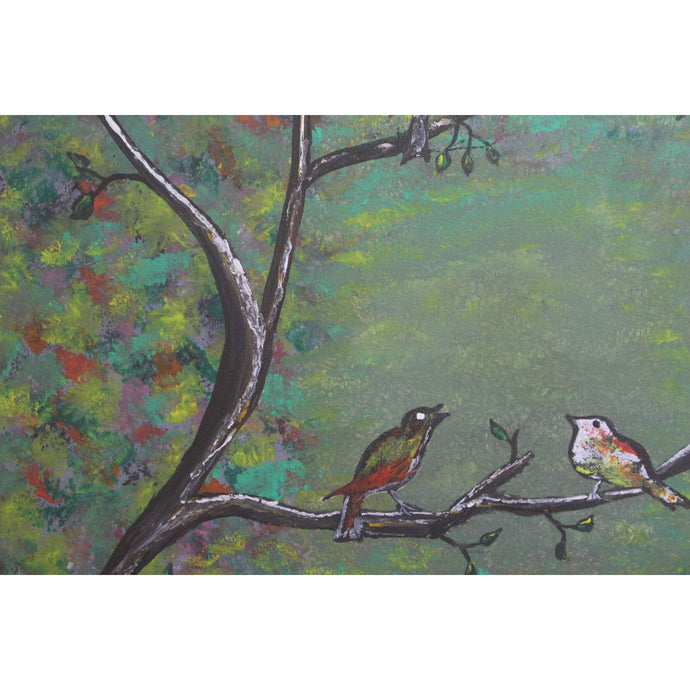 artlyne - Birds on a tree - Artwire - Acrylic art