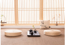 Load image into Gallery viewer, Tatami Yoga Mat - Tea Ceremony, Worship, Buddha Pad, Meditation, Cushion, Sitting, Rattan, Yoga Pad