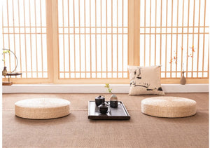 Tatami Yoga Mat - Tea Ceremony, Worship, Buddha Pad, Meditation, Cushion, Sitting, Rattan, Yoga Pad