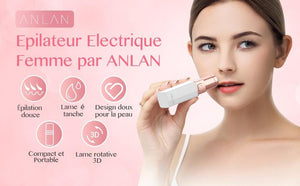Female Mini Electric Painless Epilator Hair Remover