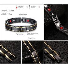 Load image into Gallery viewer, Magnetic Bio Energy Healing Bracelet