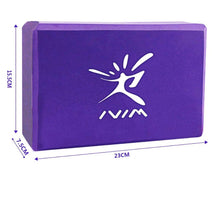 Load image into Gallery viewer, EVA Yoga Block Set For Exercise, Workout, Fitness, Training, Body Shaping