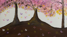 Load image into Gallery viewer, artlyne - Pink blossom trees - Artwire -