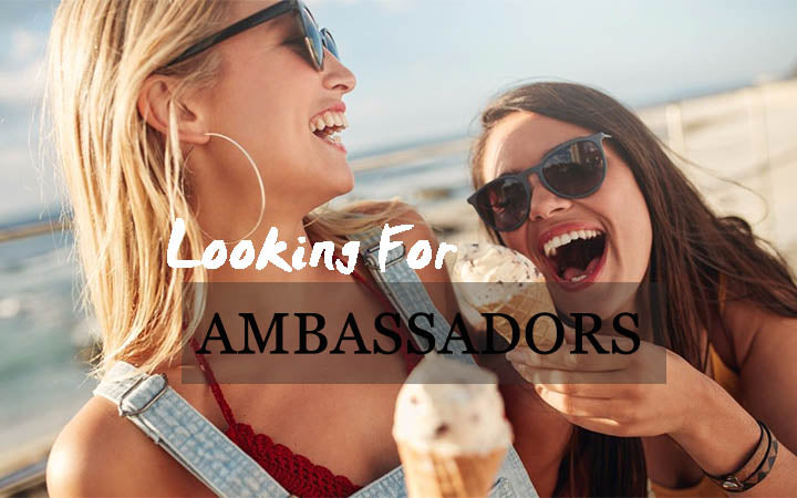 Be Our Brand Ambassadors!
