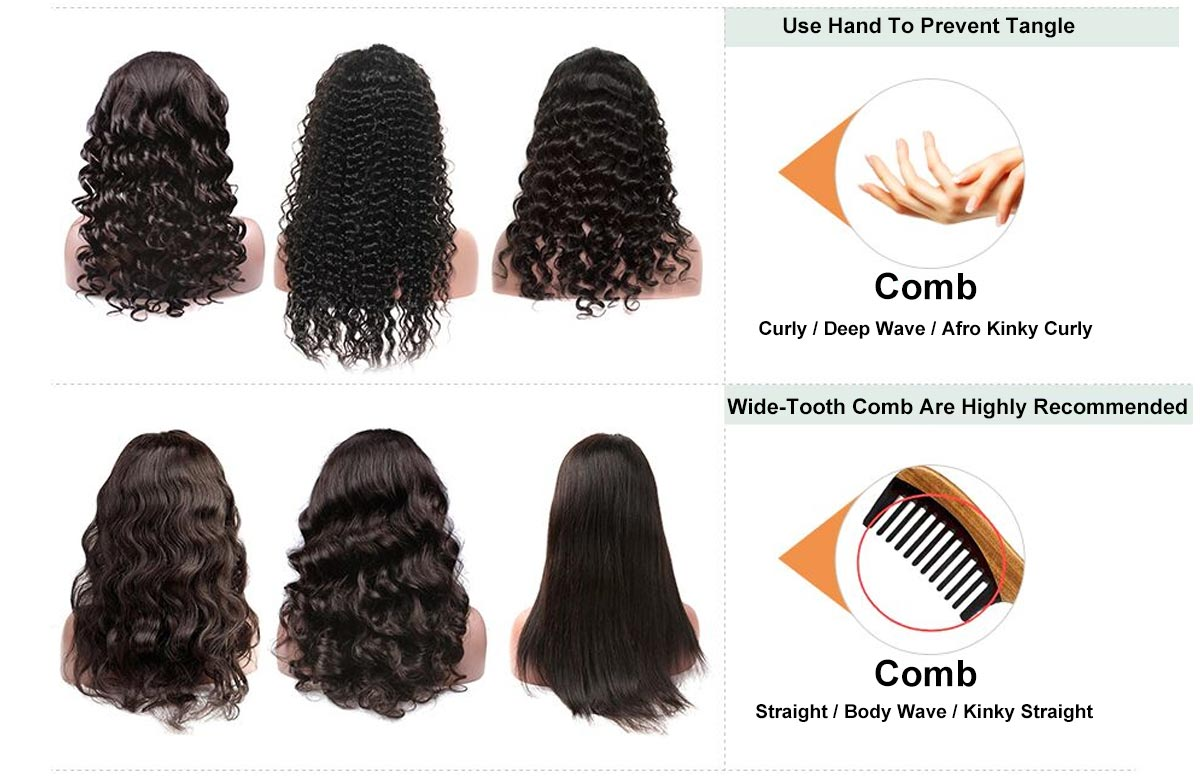 MarchQueen Water Wave Full Lace Wigs Human Hair Pre Plucked For Black Women Undetectable Swiss Lace 24in Long