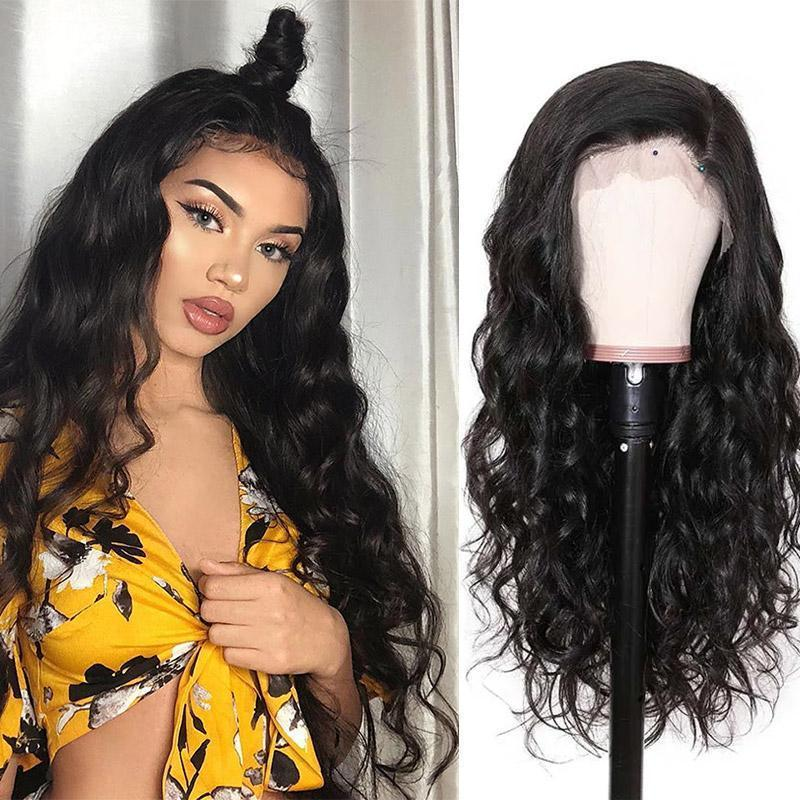 MarchQueen 13*6 Lace Front Human Hair Wigs Body Wave 150% 180% Pre Plucked Lace Frontal Wigs with Deep Part For Women