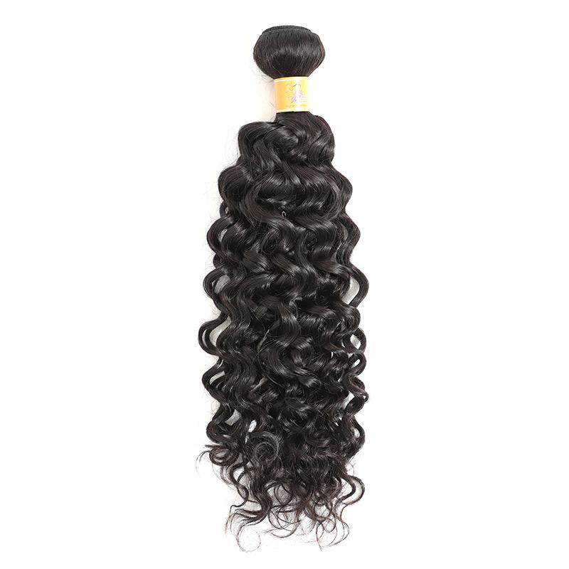 Jerry Curl Natural Malaysian Human Hair Weave 4 Bundles For Cheap