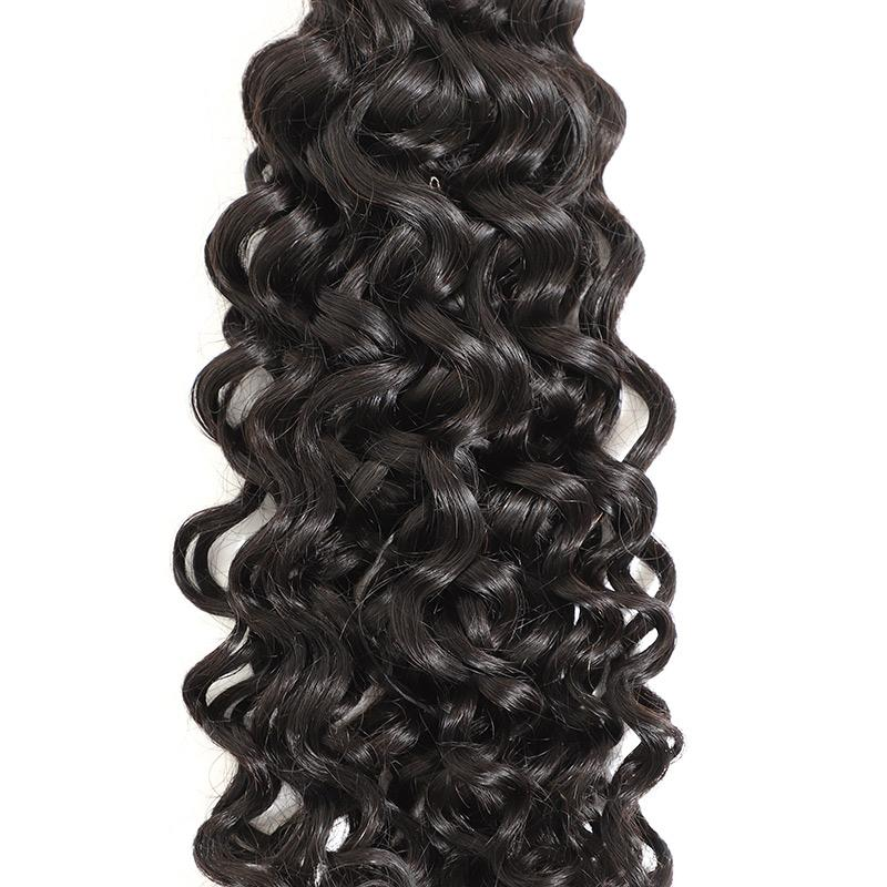 3 Bundles Brazilian Virgin Hair with Closure