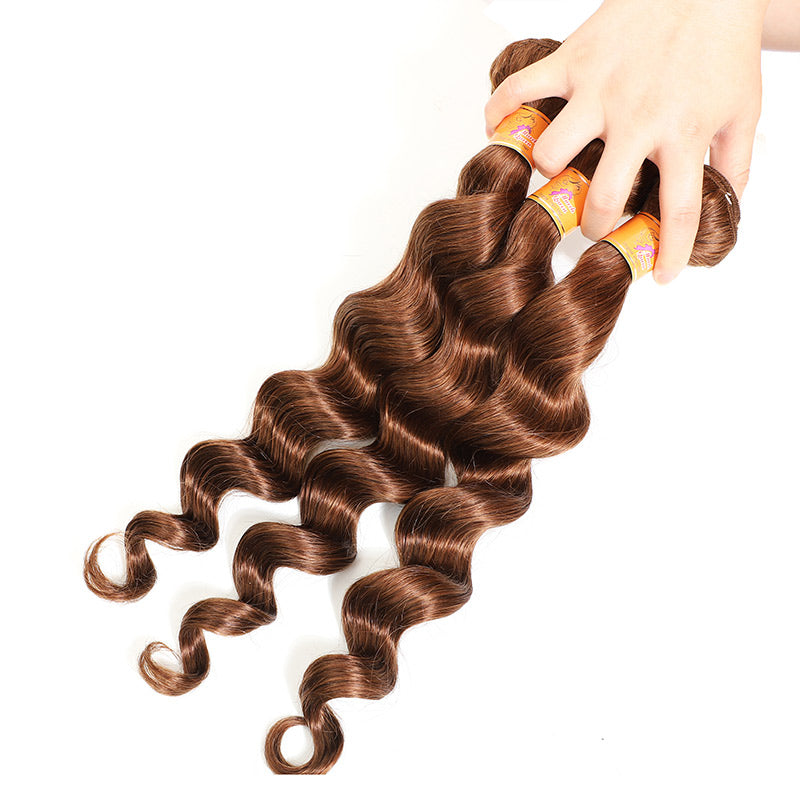 Human Hair Lace Closure With Bundles For Sale 4#