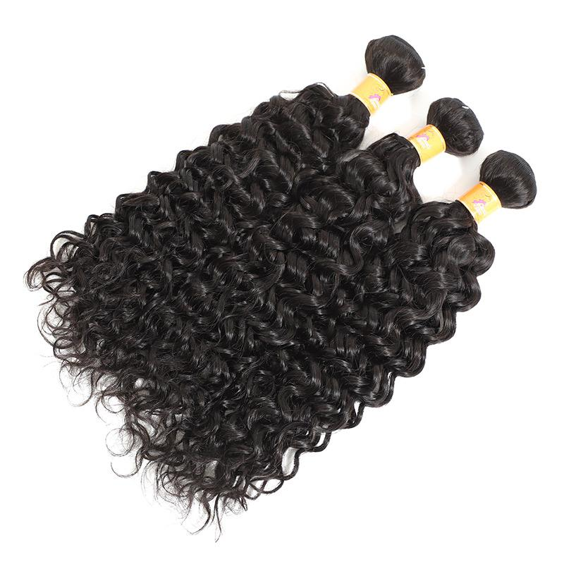 jerry curl human hair extensions