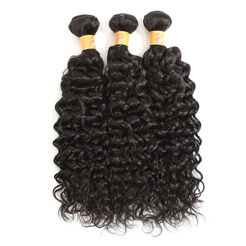 Indian Jerry Curl Hair Weave For Sew In