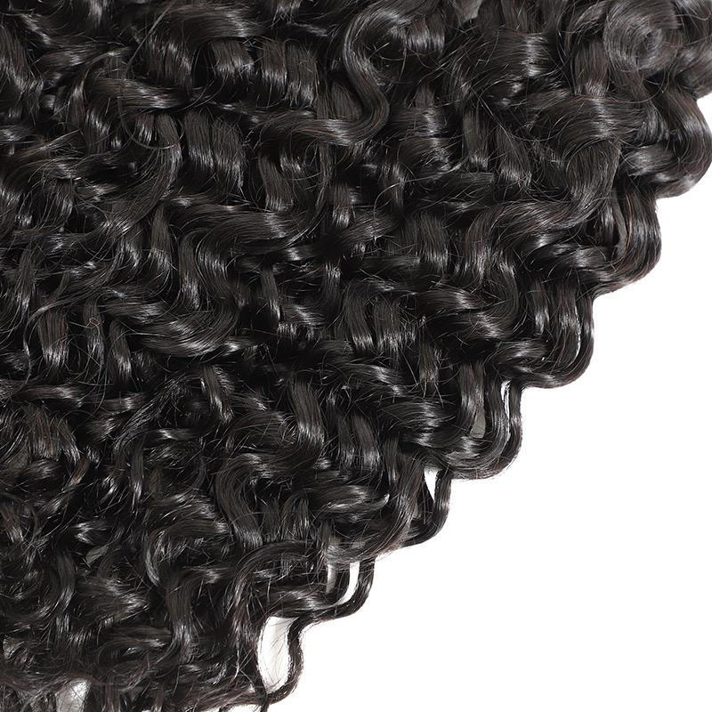 Jerry Curl Hair 4 Bundles Curly Human Hair Extensions Virgin Hair