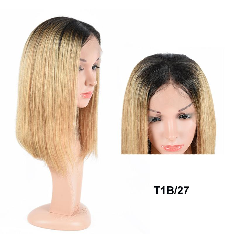 1b 27 honey blonde ombre wigs for black women