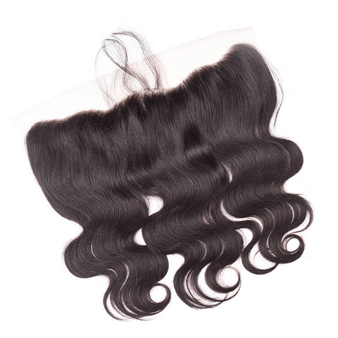 MarchQueen Peruvian Virgin Hair Body Wave Hair 4 Bundles With Lace Frontal Closure