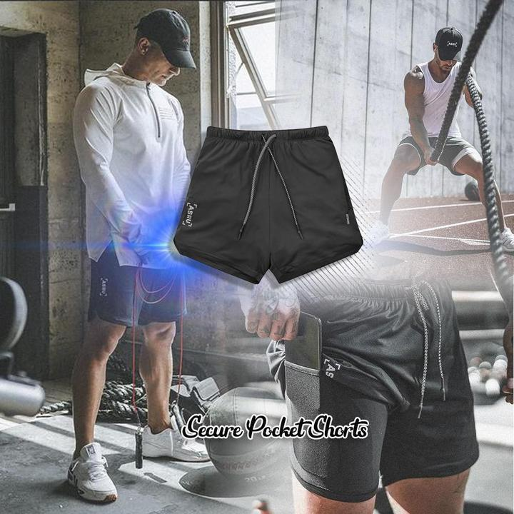 Secure Pocket Shorts(Buy Two Free Shipping)