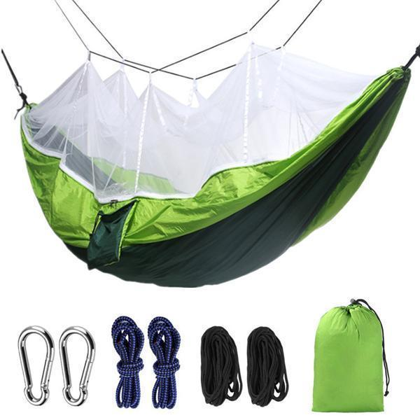 Outdoor Camping Double Mosquito Net Hammock