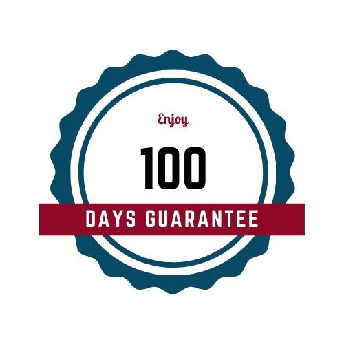 100 days guarantee