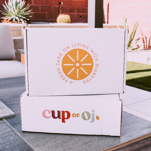 Be With Blue & Cup of OJ Special Edition Boxes