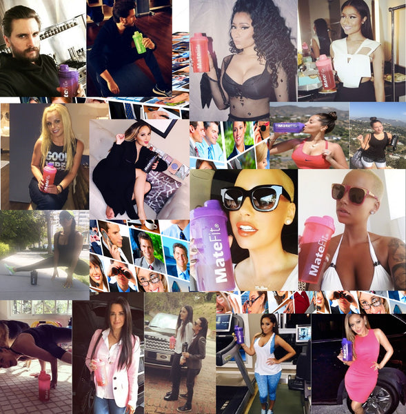 Here are MateFit Celebrities Britney , Nicki , Scott , Kyle , Amber , Angela , Adrienne