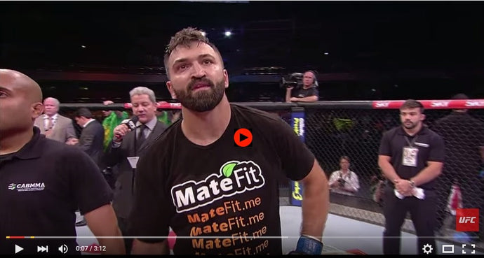 MateFit UFC Andrei Arlovski Octagon Interview 2014 September