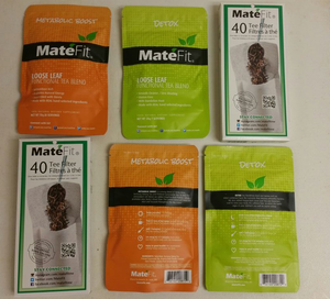 MateFit Teatox 28 Days and FitTea 28 Days Teatox