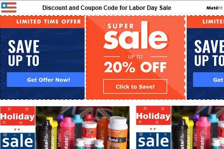 Deals: Discount and Coupon Code for Labor Day Sale
