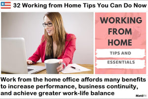 32 Working from Home Tips You Can Do Right Now
