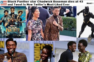 Black Panther: star Chadwick Boseman dies of cancer at 43 and his Final Tweet Is Now Twitter's Most-Liked Ever