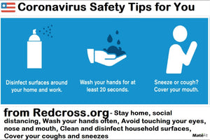 Coronavirus: Safety Tips for You from Redcross org