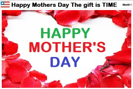 Happy Mothers Day: During the Coronavirus Crisis The gift is TIME