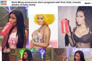 Nicki Minaj announces she's pregnant with first child, reveals photos of baby bump