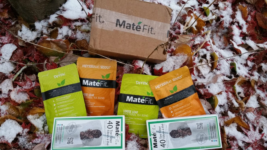 MateFit 28-day teatox and SkinnyMint 28 day teatox