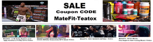 Teatox Mega Sale coupon code MateFit-Teatox 20% OFF