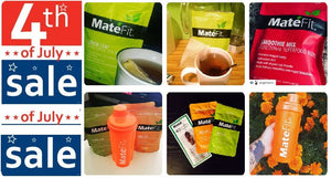 Teatox Sale for July 4th From Mate Fit Tea With Highest 32,000 Reviews From the Loyal Customers