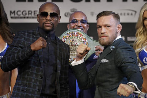 Connor McGregor and Floyd Mayweather Trade Insults in Final Presser Before Fight