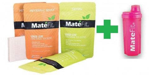 MateFit Launches FREE $9.95 Pink Bottle With Teatox Purchase - Limited Time Offer