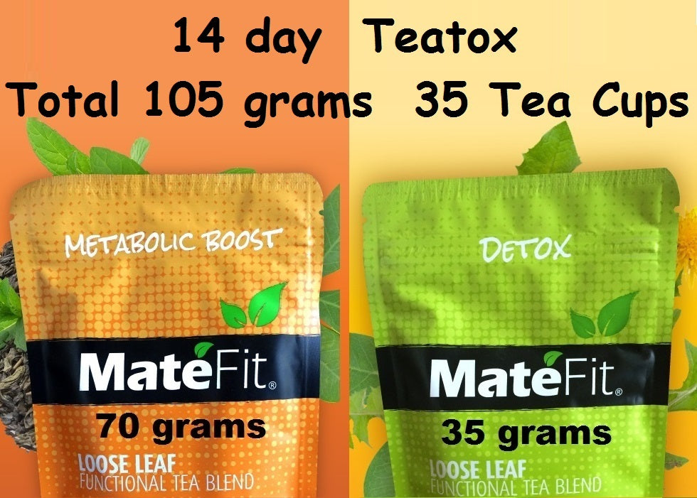 Detox Tea TeaTox Tea for Men and Women + Helps Weight Loss + 100% Money Back Guarantee + Flushes out Toxins + Relaxed Mood + Clean Colon + Supports Immune System + Remove excess water + 100% Natural MateFit Detox herbal tea + Burn calories + Reducing the Craving for sugar + Providing antioxidant + Supporting healthy cholesterol + levels And Increasing physical performance + Improving mood and attention