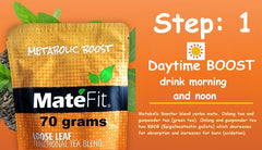 MateFit 14 day Teatox step: 1 Day time tea , metabolic tea
