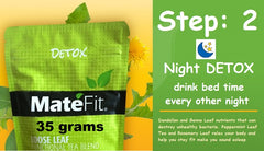 MateFit 14 day Teatox step: 2 Night time tea , detox tea
