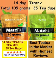 MateFit 14 Day Ultimate Teatox Cleanse