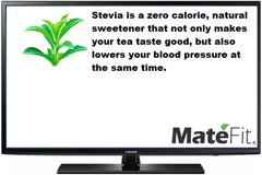 MateFit Teatox Metabolic Boost Ingredients Stevia