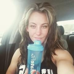 MateFit UFC fighter with teatox shaker bottle - Miesha Tate on Instagram Just finished my morning mitt session with @JimmyGifford, thank you #MateFit for the energy boost!
