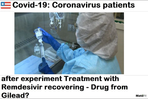 News Covid-19 Coronavirus patients after experiment Treatment with Remdesivir recovering - Drug from Gilead