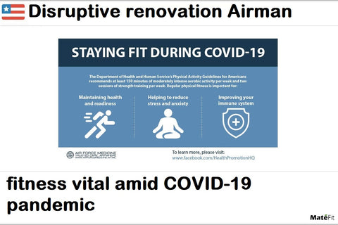 News Disruptive renovation Airman fitness vital amid COVID-19 pandemic