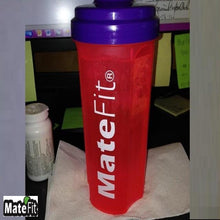 Load image into Gallery viewer, 3 Pack Nutrition Shaker Bottles - MateFit.Me Teatox  Co