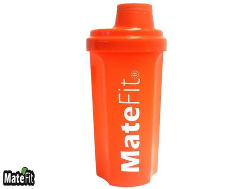 Orange 700 ml Shaker Bottle - MateFit.Me Teatox  Co